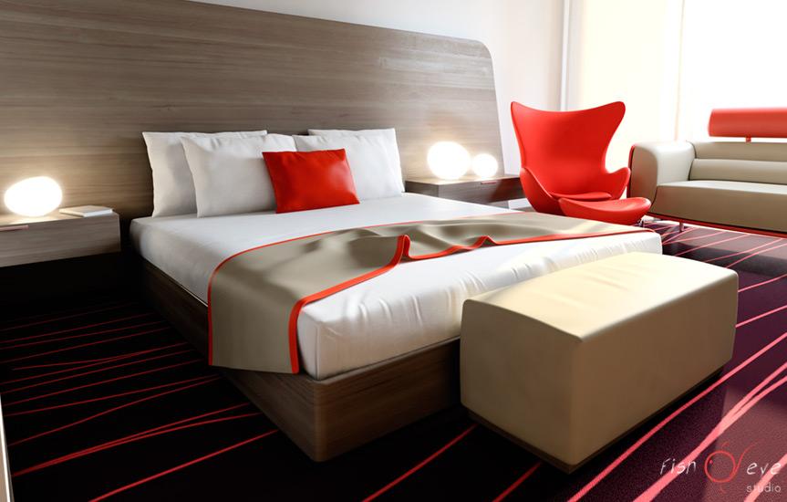 Suncity Hotel room