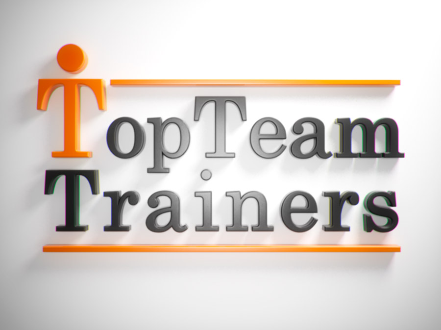 Top Team Trainer logo animation 03