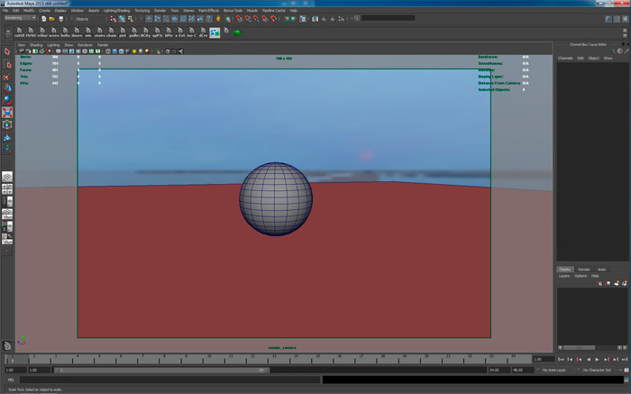 integrazione di un oggetto con background nel viewport