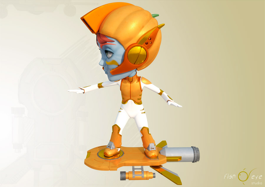 zuccatar, one of our 3d characters 01