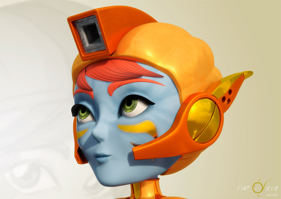 zuccatar, one of our 3d characters 02